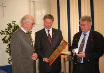 Verleihung der Bürgermedaille der Gemeinde Alling an Herbert Kuhn